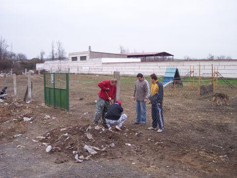 Budovanie nového areálu